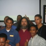 Richard Stallman En El ITLA – Fotos