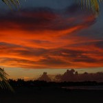 Fiery Cabarete Sunset
