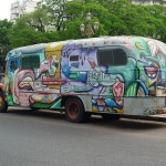 Graffiti Bus