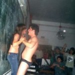 Fiesta de Strippers en La Universidad De Chaco