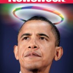 Portada de La Revista Newsweek Califica a Obama de Gay