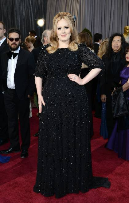 oscars-2013-adele-red-carpet