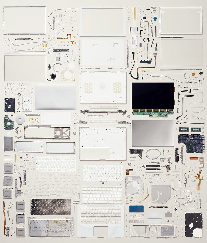 disassembled-objects-mac book