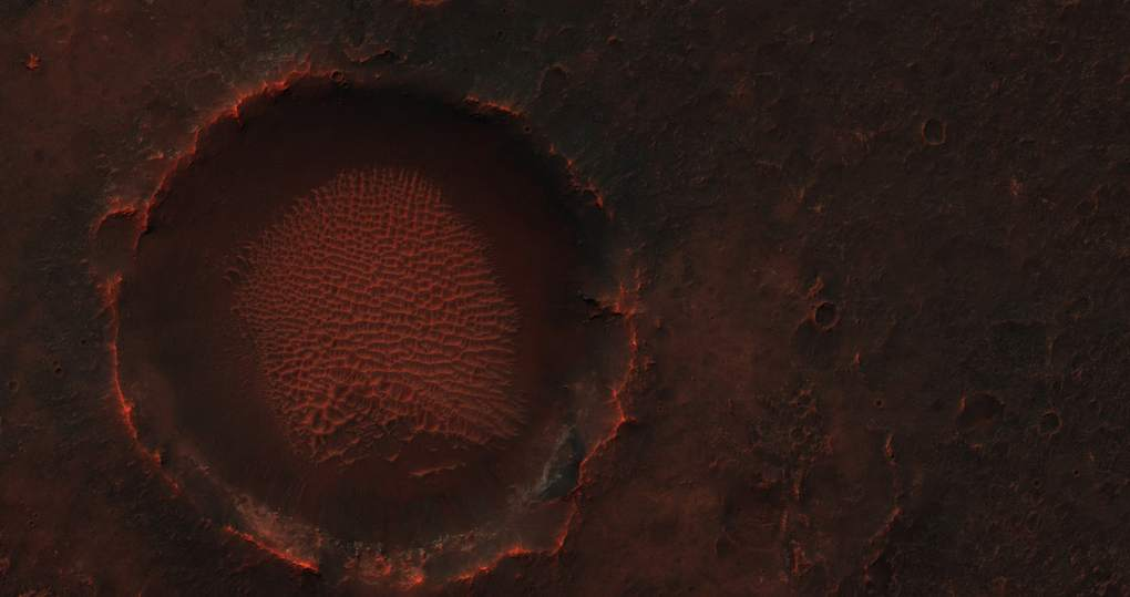Martian plains believed to be rich in chloride