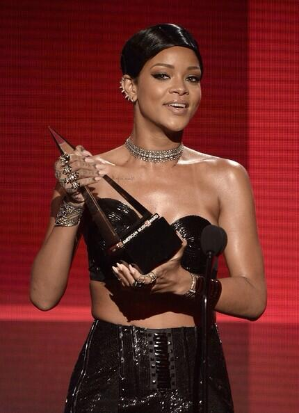 Rihanna en tubi American Music Awards