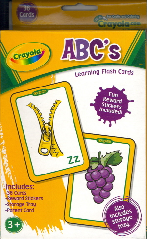 crayola_abc - flashcards