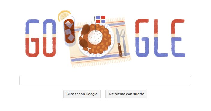 Google - Dia de la Independencia dominicana