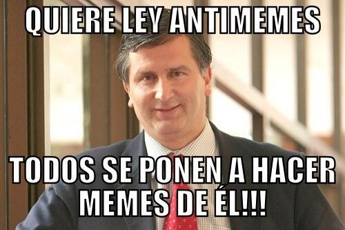 Diputado Chileno Ley Anti Meme