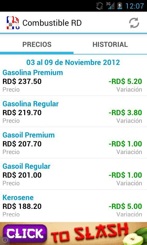 Combustibles RD