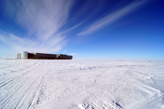 how to survive winter in antartica