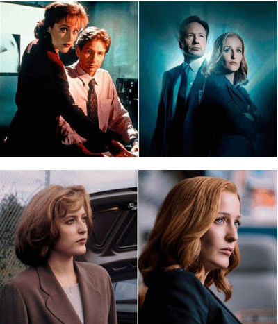 The X Files antes y despues